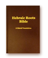 Download der Hebraic Roots Bible (EN)
